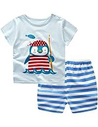 Conjuntos de bebé , ❤ Amlaiworld Recién nacido bebés niños niñas dibujos animados Penguin Tops
