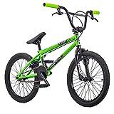 KHE BMX Fahrrad Barcode grün 20 Zoll nur 11,3kg!