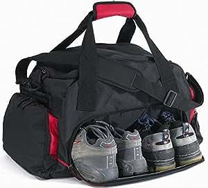 sporttasche reisetasche nassfachtasche mit schuhfach rot. Black Bedroom Furniture Sets. Home Design Ideas