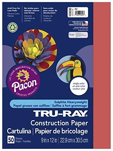 Pacon TRU-Ray Construction Paper, 12x 18