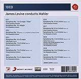 Mahler : Symphonies 1, 3, 4, 5, 6, 7, 9, 10 (Coffret 10 CD)