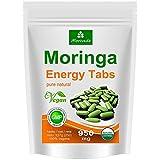 Moringa 250 Energy Tabs 950mg, 100% Natur, Vegan, hochdosiert von MoriVeda, Kapseln Tabletten Presslinge (1x250)