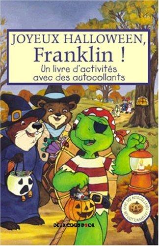 anklin ! : Un livre d'activités avec des autocollants (Halloween-celeste)