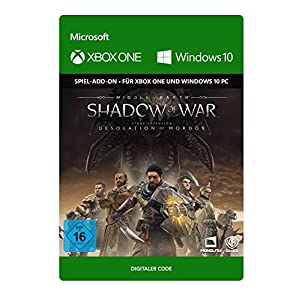Middle-earth: Shadow of War – Desolation of Mordor DLC | Xbox One/Win 10 PC – Download Code