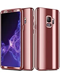 Carcasa Samsung Galaxy S9 Plus,3 in 1 Todo Incluido Anti-Scratch Ultra Slim Protective 360 PC Case Cover para…