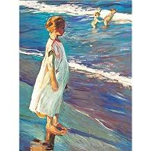 POSTERLOUNGE Poster 30 x 40 cm: Girl de Joaquin Sorolla y Bastida - Reproduction Haut de Gamme, Nouveau Poster