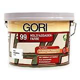 2,5L Gori 99 Polarweiß 8855 Holzfassaden-Farbe Wetterschutzfarbe