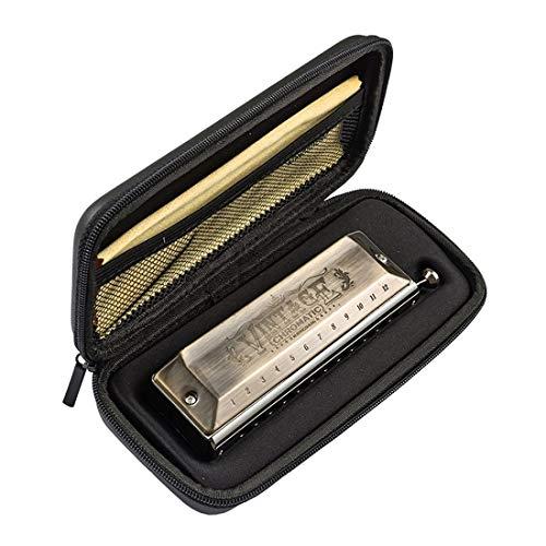 Dloz Mundharmonika, 12 Löcher, Import, Phonon, chromatische Mundharmonika, für Erwachsene, Anfänger, das Spielfeld, Mundharmonika, 48 Stück bronze