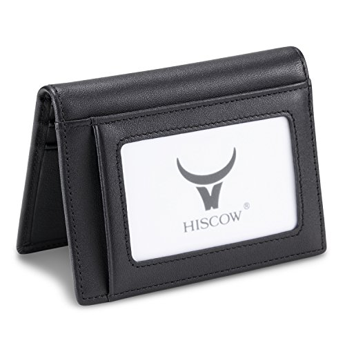 HISCOW, Porte-cartes de crédit Femme Homme Mixte adulte noir noir