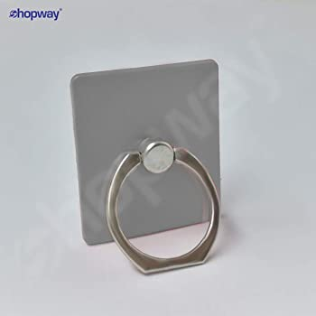 SHOPWAY™ Universal 360° Rotating Finger Ring Stand Holder (SILVER)