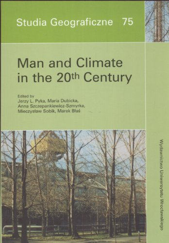 Man and Climate in the 20th Century par Mieczyslaw i inni Sobik