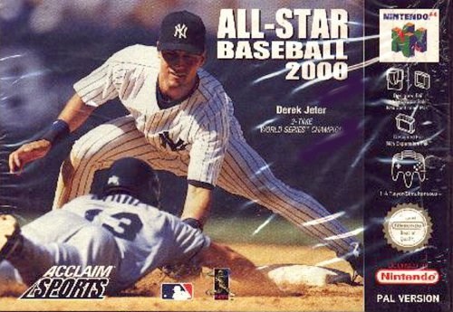 All star baseball 2000 - Nintendo 64 - PAL (Star All Baseball)