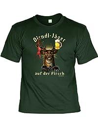 Dirndl-Jäger auf der Pirsch sexy T-Shirt mit Urkunde : )