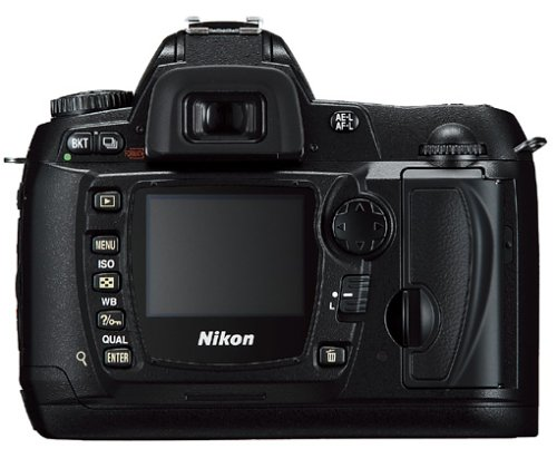 Nikon D70s SLR-Digitalkamera (6 Megapixel) Gehäuse in schwarz inkl. 1GB CF Ultra II Karte - 5