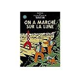 Carte postale album de Tintin: On a marché sur la Lune 30085 (15x10cm)...