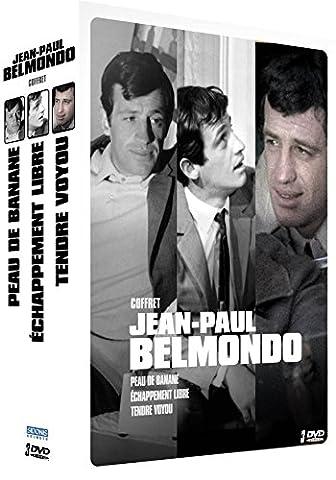 Jean-Paul Belmondo - Coffret 3 films : Peau de banane + Échappement libre + Tendre voyou