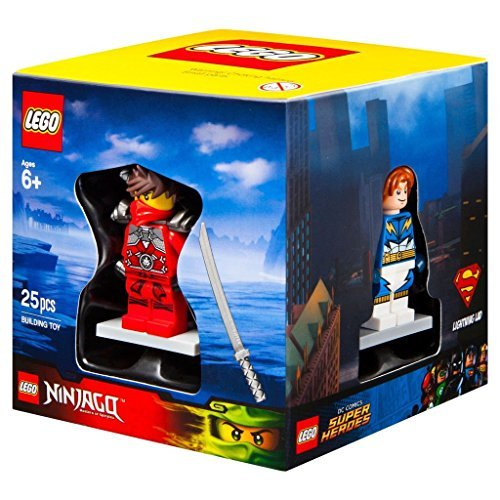 Lego Ziel Winter 2015 Minifigur Geschenkbox Promo Kubisch 5004077 - Blitz Junge + Sir Fangar + Kai Stein Armour + Stadt Scuba Diver - Ziel City Lego