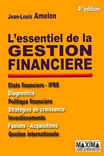 L'essentiel de la gestion financière 4e édition