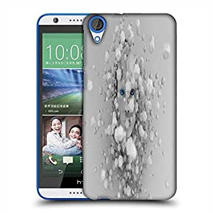 Snoogg cyborg surrounded by hexahedron 2616 Designer Protective Back Case Cover For HTC Desire 820