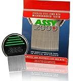ASSY 2000Terminator Lice Comb, profesional de acero inoxidable louse y nit peine para piojos de la cabeza Tratamiento.