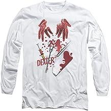 Dexter crimen Drama serie Showtime herramientas del comercio adulto manga larga camiseta