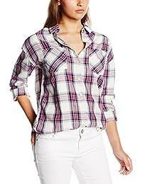 Hilfiger Denim Damen Bluse Thdw Check Shirt L/S 12