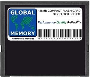 128Mo COMPACT CARTE FLASH MÉMOIRE POUR CISCO 3800 SÉRIE ROUTEURS MEM3800-128CF , MEM3800-64U128CF)