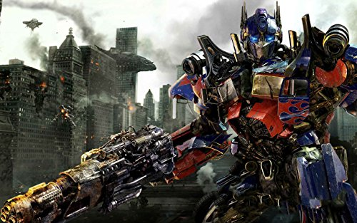 TRANSFORMERS 3 OPTIMUS PRIME ON FINE ART PAPER HD QUALITY WALLPAPER POSTER  available at amazon for Rs.190