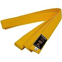 Kaiten Karategürtel Gürtel Budogürtel Baumwolle (Gelb)