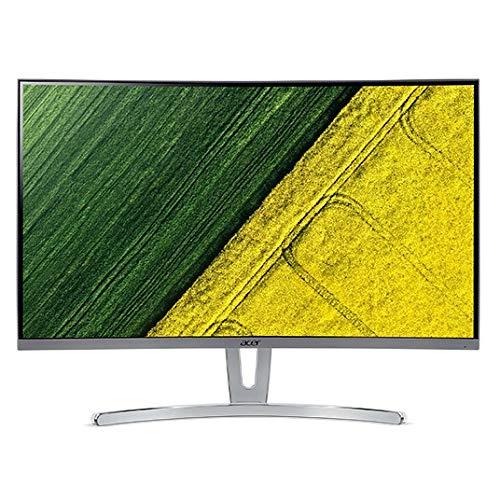 Acer ED323QUR 80 cm (31,5 Zoll WQHD) Curved Monitor (HDMI, DVI, DisplayPort, 4ms Reaktionszeit, 75Hz, 2560 x 1440 WQHD Auflösung, AMD FreeSync) silber