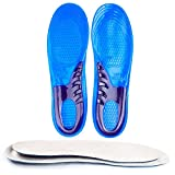 JERN Silicone Gel orthopedic Massaging Shoe Inserts Shock Absorption insole (L)