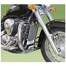 (Ref. 0740nd) Protector de motor, defensas para moto custom de 30mm de