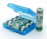 4 x SAFT AA in BOX LS14500 Batterie 3,6V 2600mAh Li-SOCl2