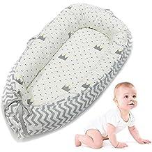 AOLVO Cama Nido de Bebé Recién Nacido para Acurrucarse, Reductor Protector de Cuna Cama de