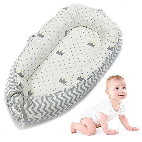 AOLVO Cama nido de bebé