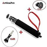 Action Pro Waterproof Monopod Extendable Gopro Pole selfi Stick Monopod with Go Pro Mount for Hero 5 4 3 xiaomi yi Monopod Accessories