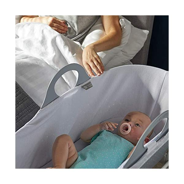 Tommee Tippee Sleepee Baby Moses Basket and Rocking Stand Grey Tommee Tippee Safe, modern, portable baby moses basket, perfect to keep your newborn baby nearby as they sleep, day or night. your sleepee moses basket comes with complete with mattress, liner and rocking stand. Choose static or rocking position, the curved base on the stand allows you to gently rock your baby to sleep and features adjustable safety stops to give you the option of rocking or keeping it still. Easy to clean, the sleepee moses basket can be cleaned with warm soapy water. the water-resistant mattress cover is wipe clean and machine washable. the 100 % cotton liner is machine washable. 4