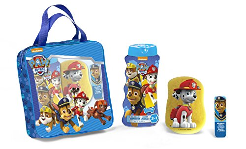 Cartoon Patrulla Canina Gel + Esponja + Bálsamo Labial - 1 Pack
