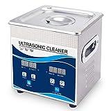 CQ 2L Limpiador Ultrasónico Temporizador Digital Calentador Ultrasonido para Joyería Gafas
