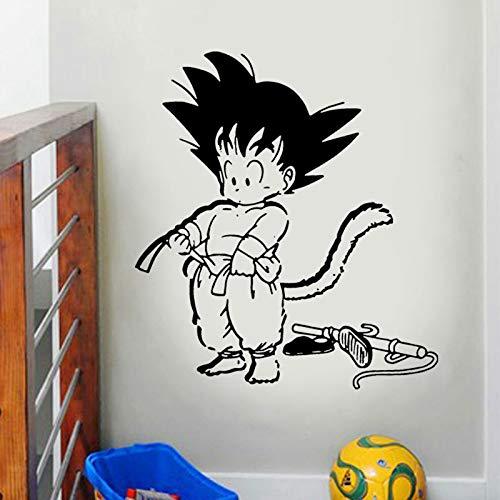 u Dragon Ball Anime Wandaufkleber Vinyl s Wohnkultur Für Kinderzimmer Schlafzimmer Abziehbilder Abnehmbare Innenwandbild Lz01 L 57x63 cm ()