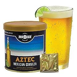 Mr. Beer Aztec Mexican Cerveza Homebrewing Craft Beer Refill Kit