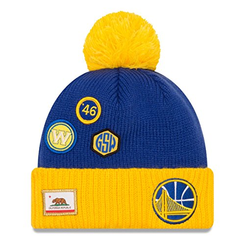 New Era NBA Draft 2018 Bobble Mütze - Golden State Warriors