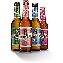 8 Flaschen Berliner Kindl Mix a 0,33l Mischgetränk 3.0% Vol. inc. Pfand
