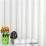 Wallpaperpvcwaterproof Pvc Selbstklebende Tapete Tapete Schlafzimmer Wohnzimmer Hostel Striped Mediterranean Wall Mounted Möbel Renovierungs Aufkleber 0.45 (Wide) * 10 (Long)