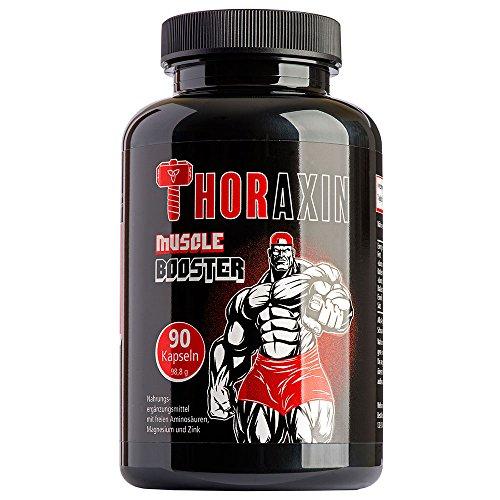 Beste Muskelaufbau-stack (ThoraXin Muskelaufbau Kapseln - Extrem schnelle Zunahme der Muskeln - Enorme Muskelzunahme bei gleichem Workout)