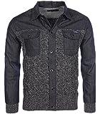 Kaporal - NEW Veste en jeans gilet Remo bleue homme hiver 2016