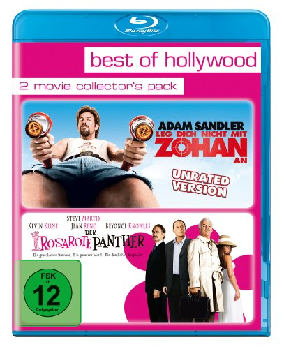 Bild von Leg dich nicht mit Zohan an/Der rosarote Panther - Best of Hollywood/2 Movie Collector's Pack [Blu-ray]