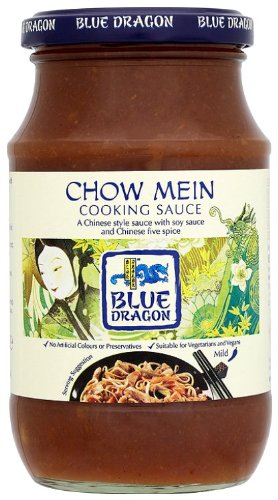 Blue Dragon Chow Mein Cooking Sauce 425 g (Pack of 6)