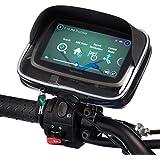 UltimateAddons motocicleta M10Pitch espejo soporte para bicicleta y resistente al agua GPS funda para Garmin Nuvi y unidad Serie