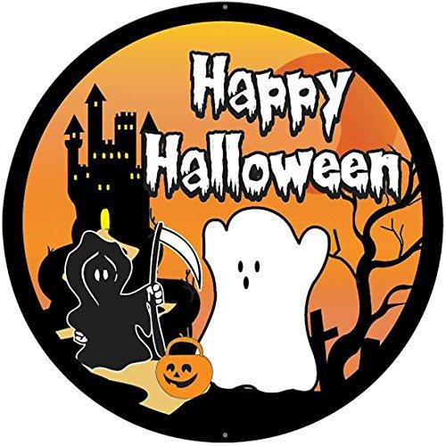 e Deco halloween'Auto Aufkleber Sticker Kinder fantome manoir ()